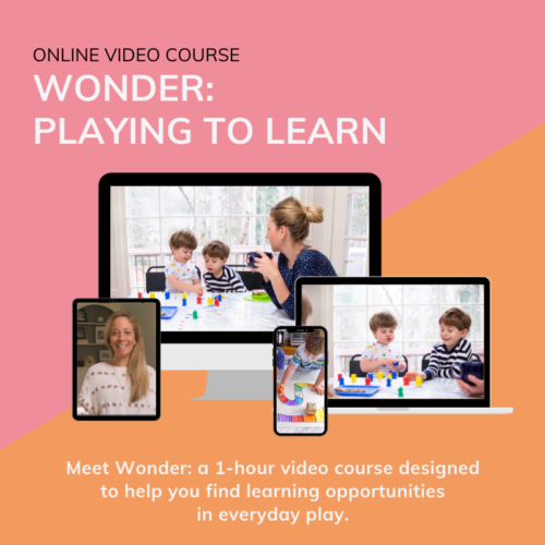 preschool video course